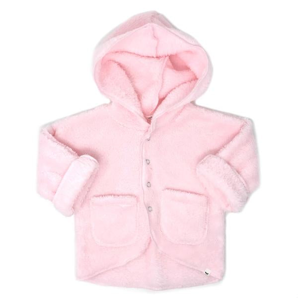 oh baby! Snowdrift Hooded Jacket - Pale Pink