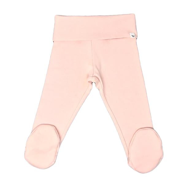 oh baby! Yoga Footie - Pale Pink