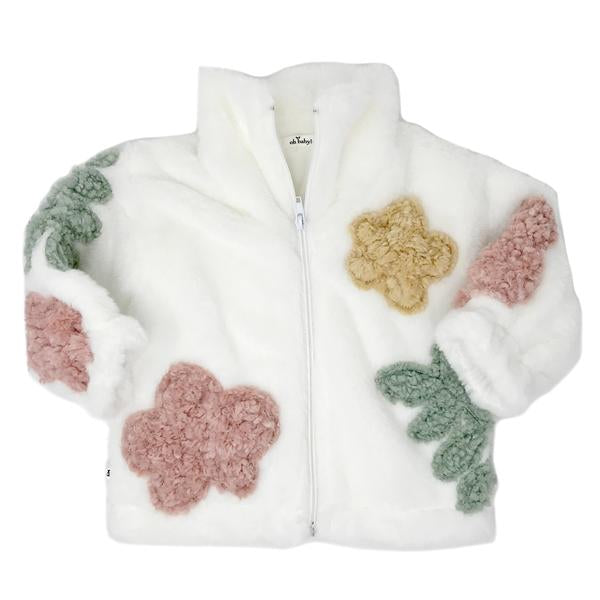 oh baby! Danish Floral Adult Jacket  - Cream Multi