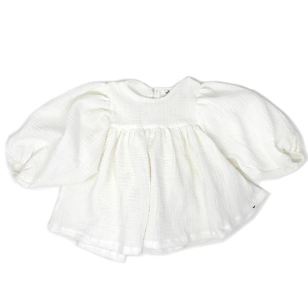 oh baby! Raphael Double Gauze Blouse - Cloudy