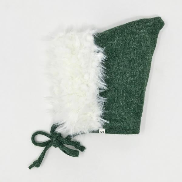 oh baby! Snowdrift Pixie Infant Hat - Forest