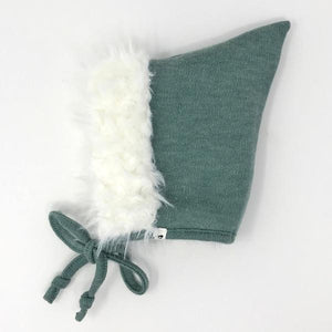 oh baby! Snowdrift Pixie Infant Hat - Sea