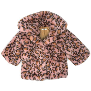 oh baby! Car Coat Adult Jacket - Blush Cheetah