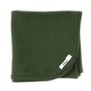 oh baby! Layette Blanket - Moss