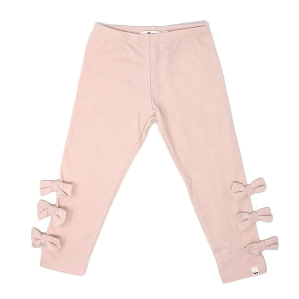 oh baby! Bow Leggings - Pale Pink