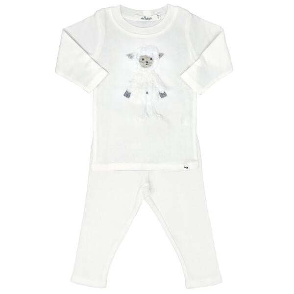 oh baby! Two Piece Set - Ragdoll Lamb - Cream