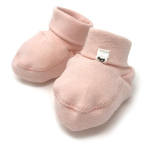 oh baby! Baby Rib Winter Bootie - Pale Pink