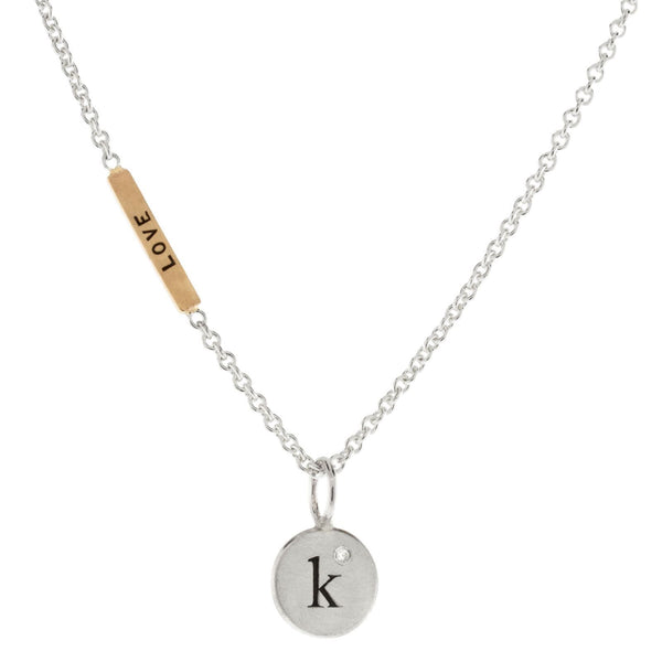 Heather Moore Single Initial and Love Always Necklace - oh baby!
