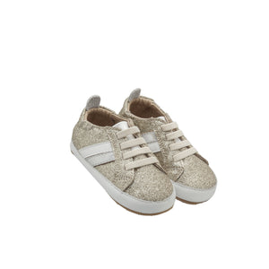 Old Soles Iggy Infant Baby Shoes - Gold/Silver