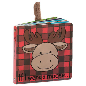 "Jellycat ""If I Were A Moose"" Board Book"