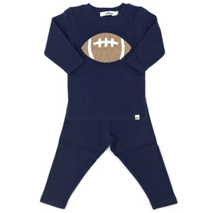 oh baby! Two Piece Set - Football - Navy