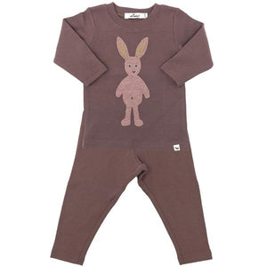 oh baby! Two Piece Set -  Ragdoll Bunny Blush - Lavender