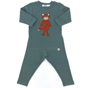 oh baby! Two Piece Set - Ragdoll Fox - Sea