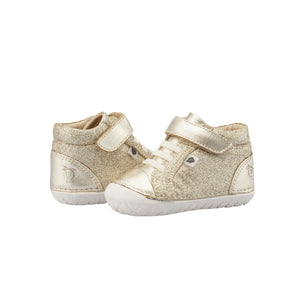 Old Soles Ring Pave Glam Infant Toddler Shoes - Gold