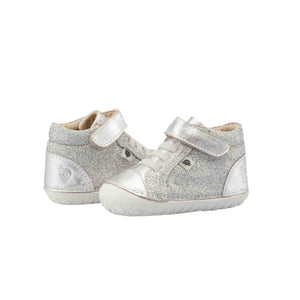 Old Soles Ring Pave Glam Infant Toddler Shoes - Silver