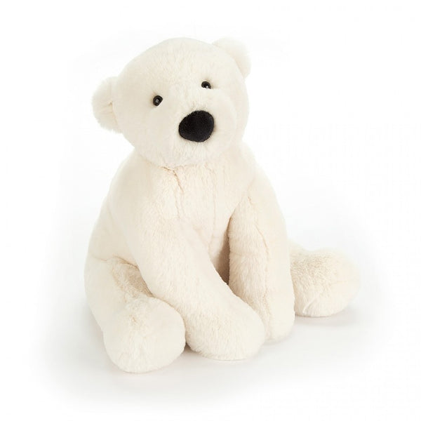 Jellycat Perry Polar Bear Plush Stuffed Animal  - Large - oh baby!