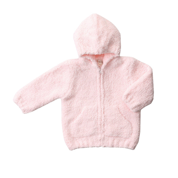 Angel Dear Chenille Infant Hoodie Jacket - Pink