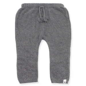 oh baby! Ribbed Fuzzy Knit Legging, Gray