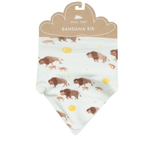 angel dear bandana bib bison
