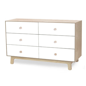 Oeuf Merlin 6 Drawer Dresser - Sparrow - oh baby!