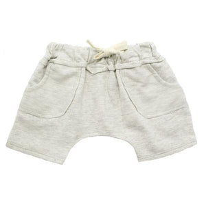 oh baby! Toddler Pocket Shorts - Oatmeal