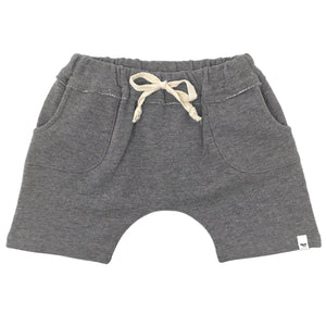 oh baby! Pocket Shorts - Charcoal