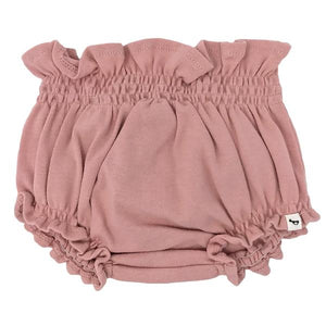 oh baby! High Waisted Tushie Diaper Cover  - Blush