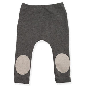 oh baby! Patch Pocket Pant with Sand Patch - Charcoal