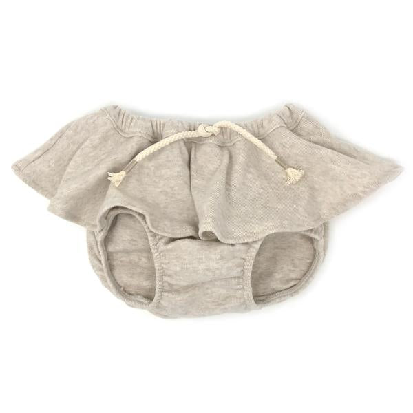 oh baby! Skirted Tushie Diaper Cover - Sand