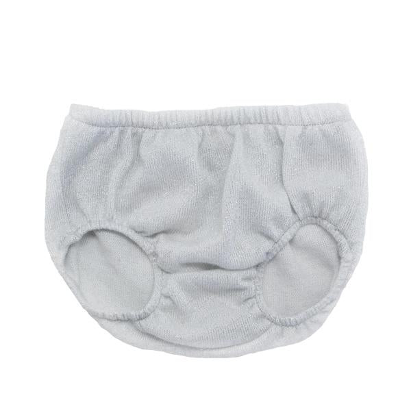 oh baby! Stardust Tushie Diaper Cover - Silver