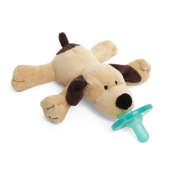 WubbaNub Baby Pacifier - Brown Puppy