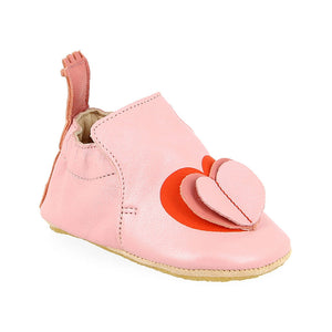 easy peasy Blublu Coeur Infant Shoes, Pink - oh baby!