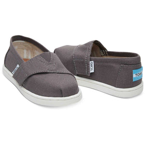 TOMS Classic Ash Canvas Alpargatas Shoes