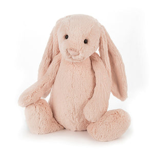 Jellycat Bashful Blush Bunny Plush Stuffed Animal - Huge - oh baby!