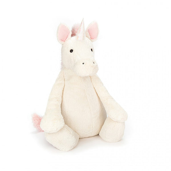 Jellycat Bashful Unicorn Plush Stuffed Animal - Medium - oh baby!
