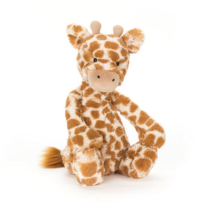 Jellycat Bashful Giraffe Plush Stuffed Animal - Medium