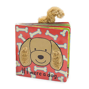 "Jellycat ""If I Were A Dog"" Board Book - oh baby!"