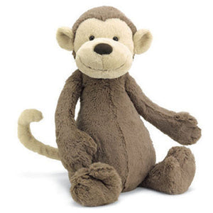 Jellycat Bashful Monkey Plush Stuffed Animal