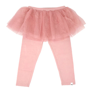 oh baby! Glinda Tushie Leggings - Blush