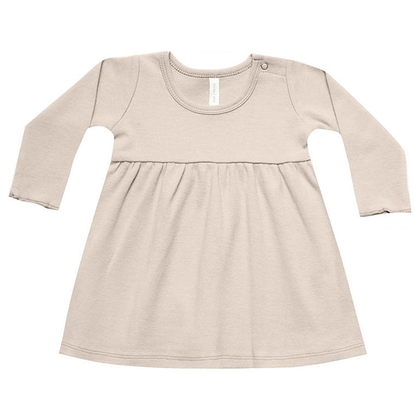 Quincy Mae Baby Dress - Rose