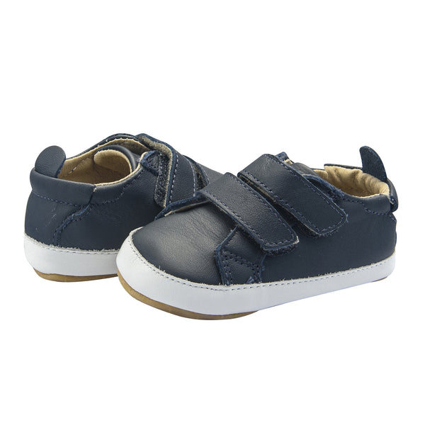 Old Soles Bambini Markert Infant Baby Shoes - Navy/Snow