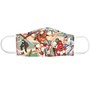 oh baby! Children's Face Mask - Baseball/Bandana