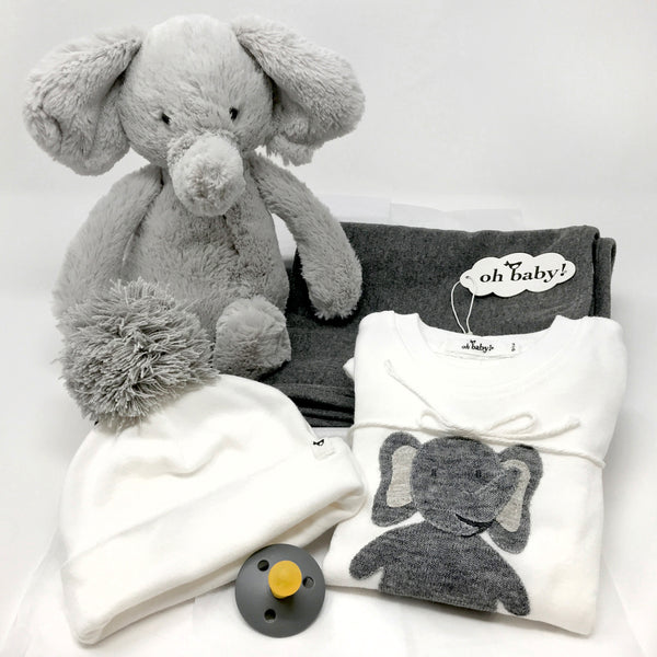 oh baby! Big Elephant Love Gift Box Set