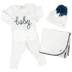 oh baby! Baby Love Gift Box Set - Deep Blue