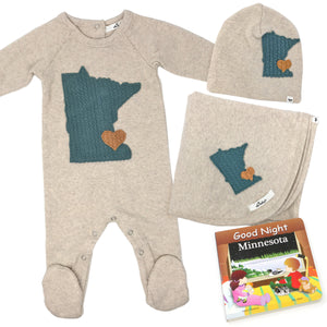 oh baby! Minnesota Love Sea Gift Box Set