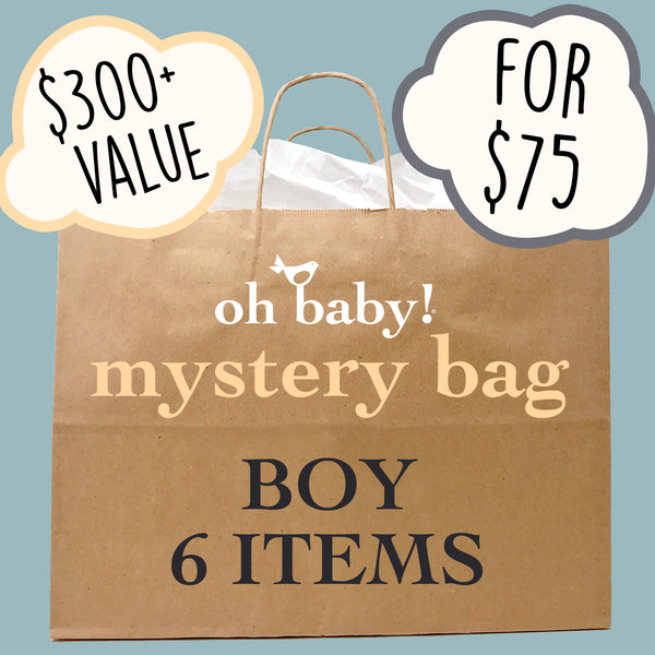 oh baby! Surprise Mystery Bag - Boy - 6 Pack