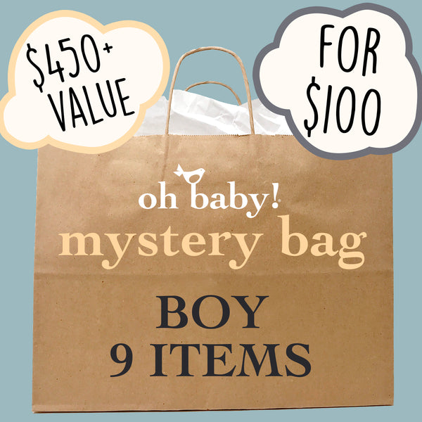 oh baby! Surprise Mystery Bag - Boy - 9 Pack