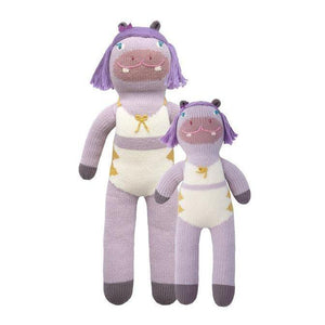 Blabla Knit Doll, Easter the Hippo - Mini Size - oh baby!
