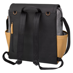 Petunia Pickle Bottom Boxy Backpack - Graphite/Camel