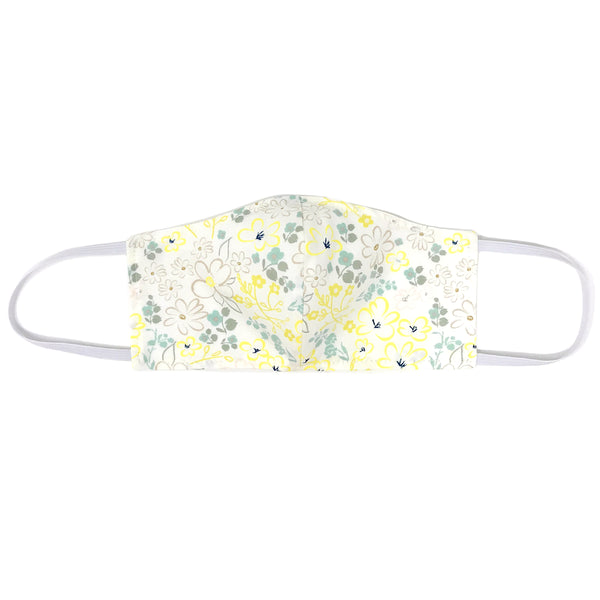 oh baby! Children's Face Mask - Yellow Flower